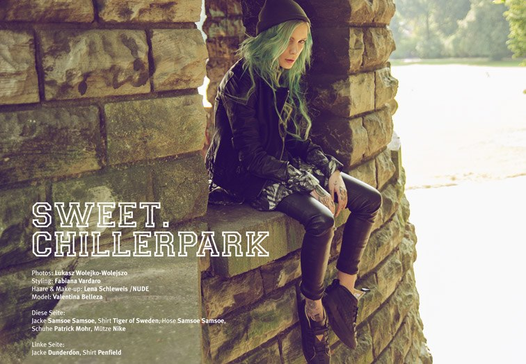 Female model photo shoot of valentina belleza in Schillerpark - Berlin
