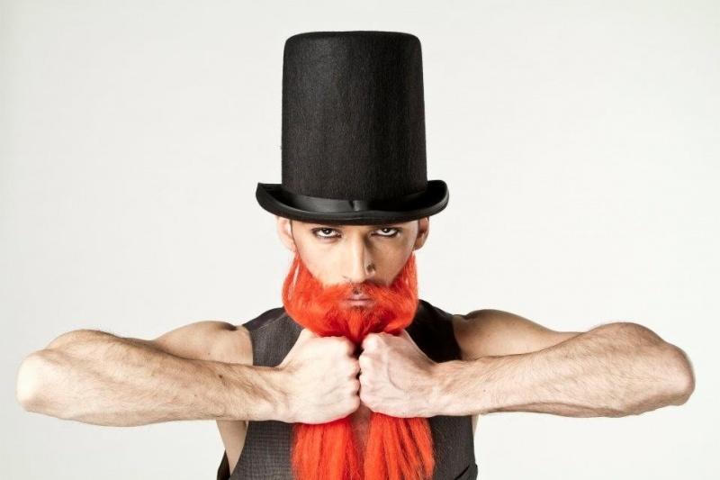 Male model photo shoot of GeorgiosC in LCF, makeup by GeorgiosC