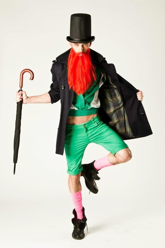 Male model photo shoot of GeorgiosC, makeup by GeorgiosC