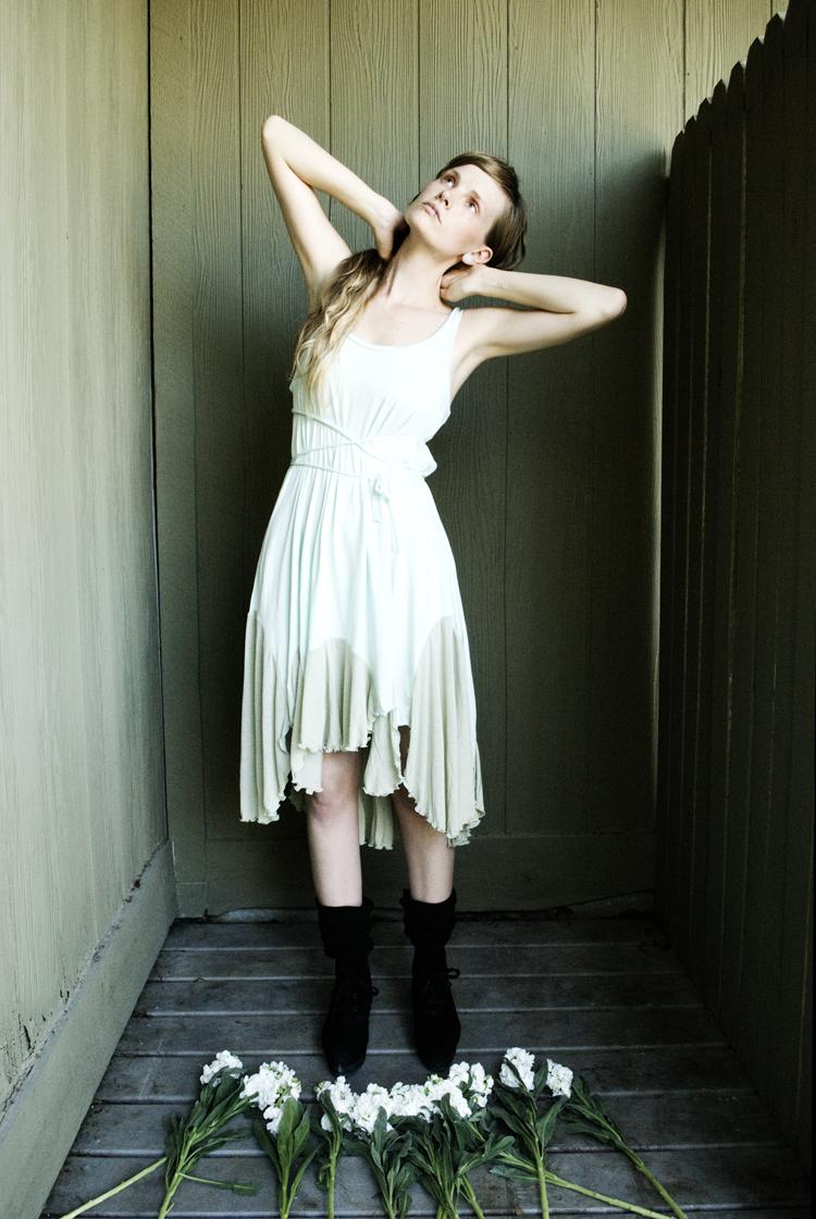Female model photo shoot of KatastrophicDesign by Katy Shayne in Austin, TX