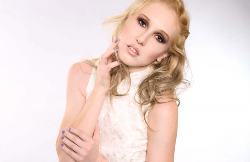 Female model photo shoot of BrandyMedinaMUA
