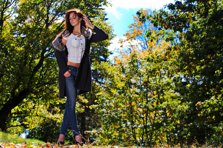 Female model photo shoot of Miss Kay LA by RJT Images in Bancroft Tower