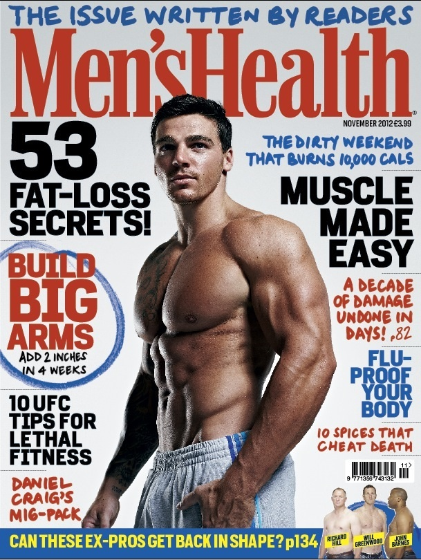 Oct 12, 2012 2nd Mens Health cover