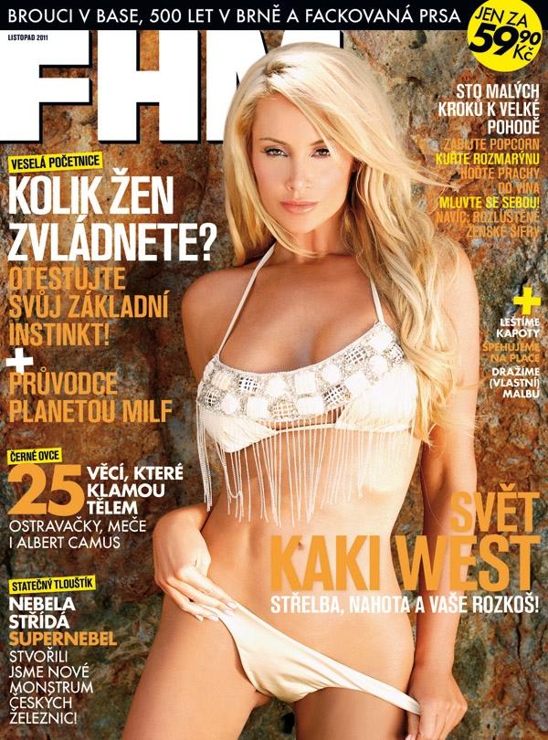 Oct 16, 2012 FHM Czech Republic Kaki West- FHM Czech Republic Nov 2011