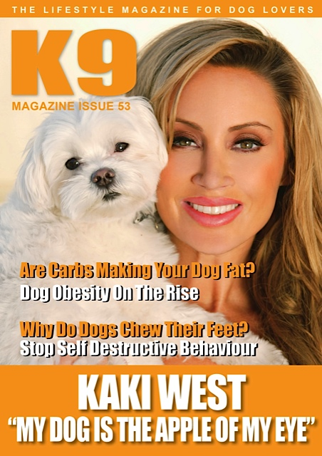 Oct 16, 2012 K9 Magazine Kaki West- K9 Magazine March/April 2012