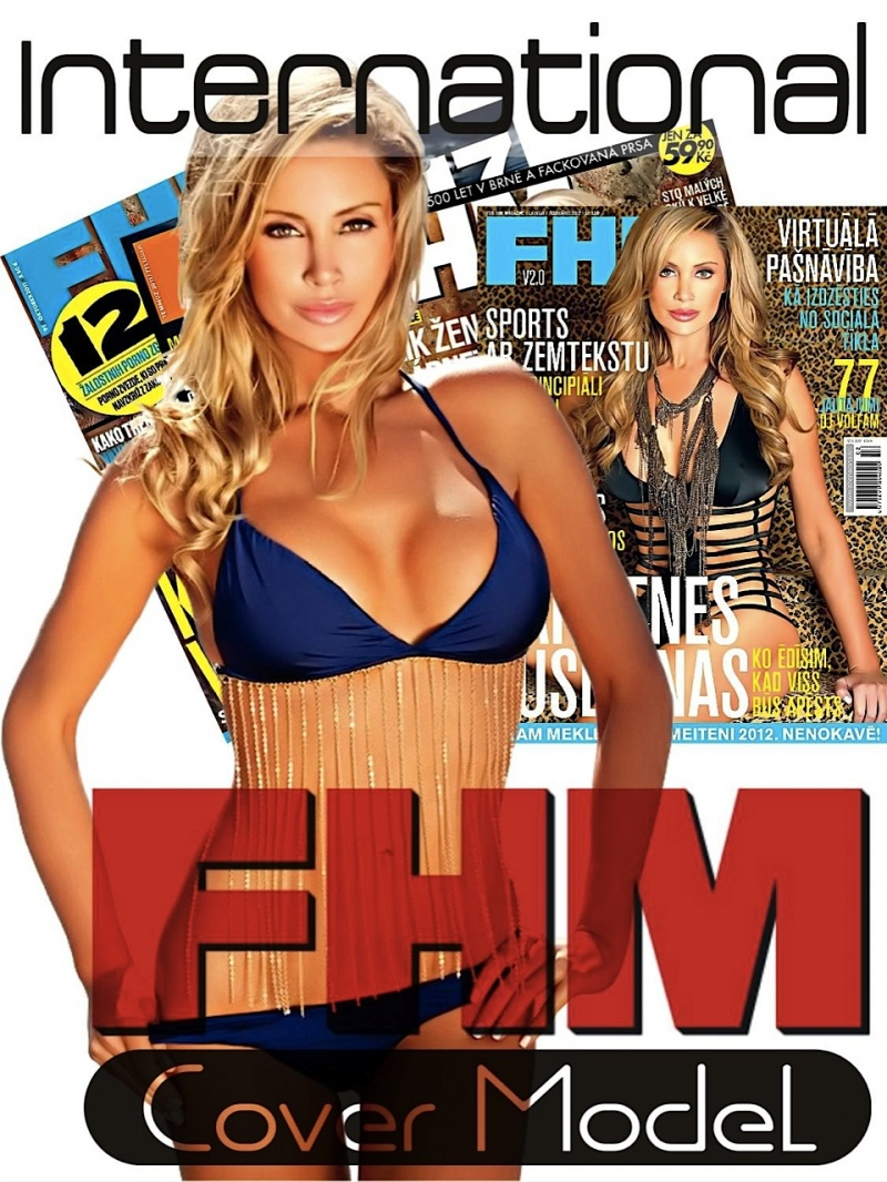 Oct 16, 2012 Brian B Hayes Kaki West- International Cover Model