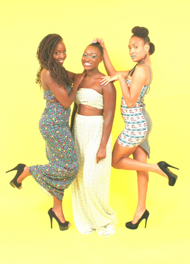 Oct 16, 2012 ©Harmon Outlaw 2012 Fashion by Kyrs  Models: Kentyah AmerikanGoddess Tyler,Isatou Icee Faal  and  Felicity Kagiri