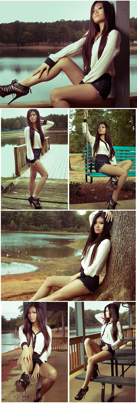 Male and Female model photo shoot of Keith Saunders Photos and Crystal Tran in Atlanta GA
