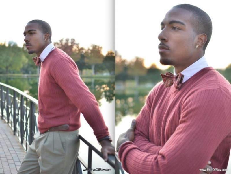 Male model photo shoot of Delric