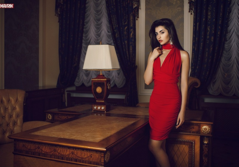 Female model photo shoot of Irina_Dreyt in Russia, Talion Imperial Hotel