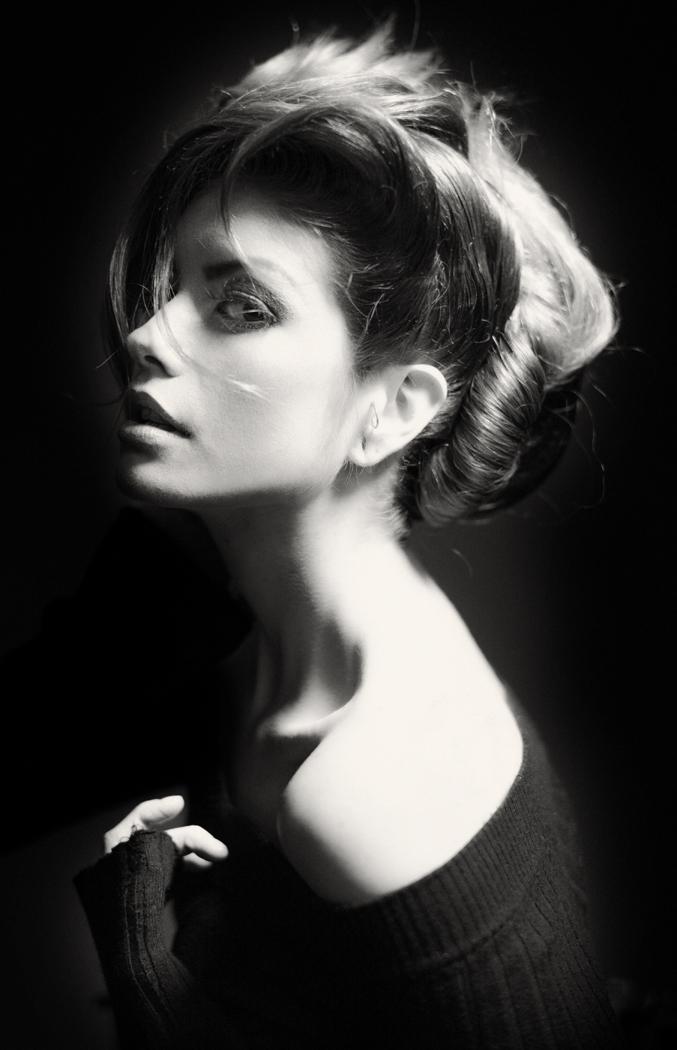 NY Oct 19, 2012 Bruce V Wright Mono version;  Hair stylist Arman MUA Delaqua Amazing Steph Rai