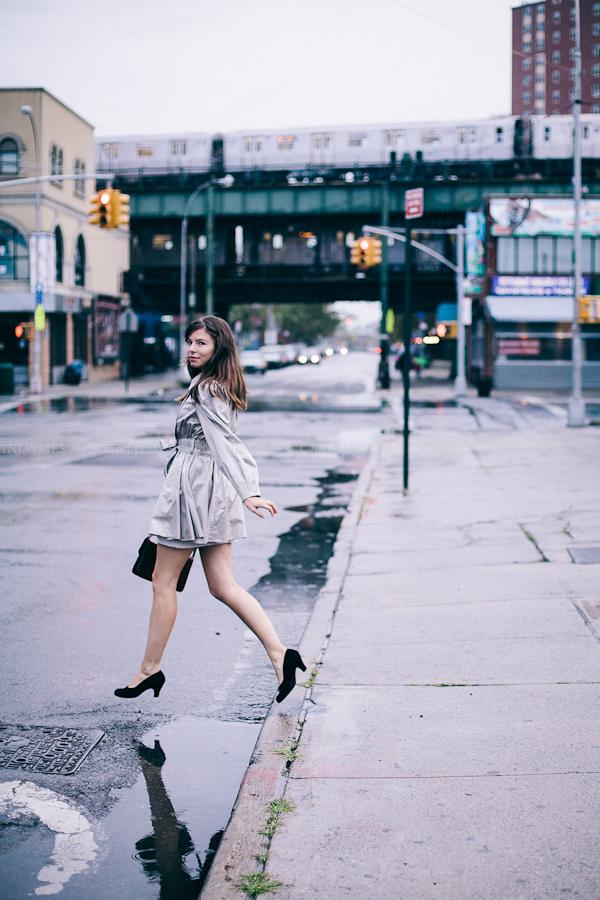 Female model photo shoot of Monica MS by Gavin Jaymes in Coney Island