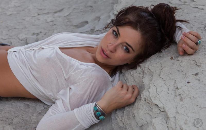 Female model photo shoot of Ramblin Gal by River Oaks Arts Society