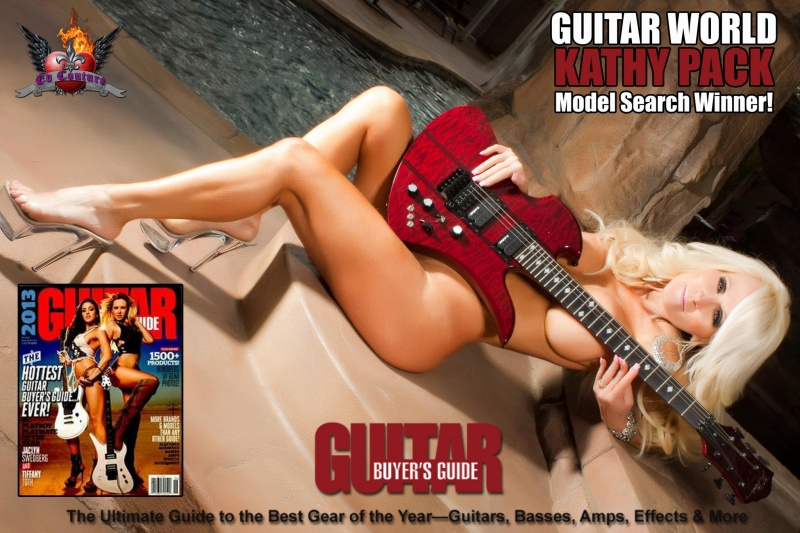 Riverside Ca Oct 21, 2012 Ed Couture / 2012 Kathy Pack / Guitar World Magazine