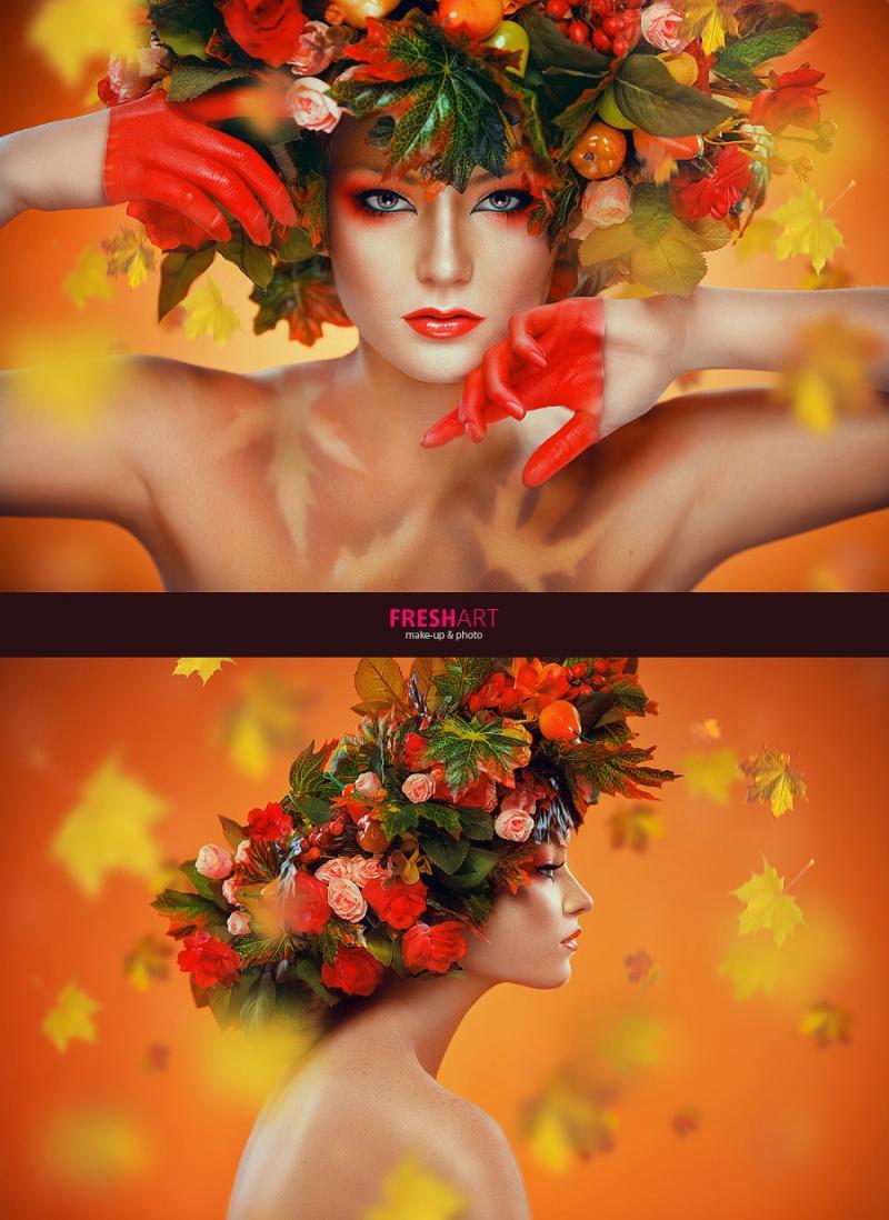 Oct 22, 2012 Retouching: Alena Zolotnikova Photo by «Fresh-art» studio