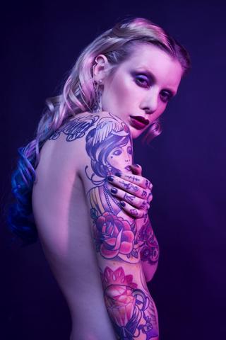 Female model photo shoot of valentina belleza