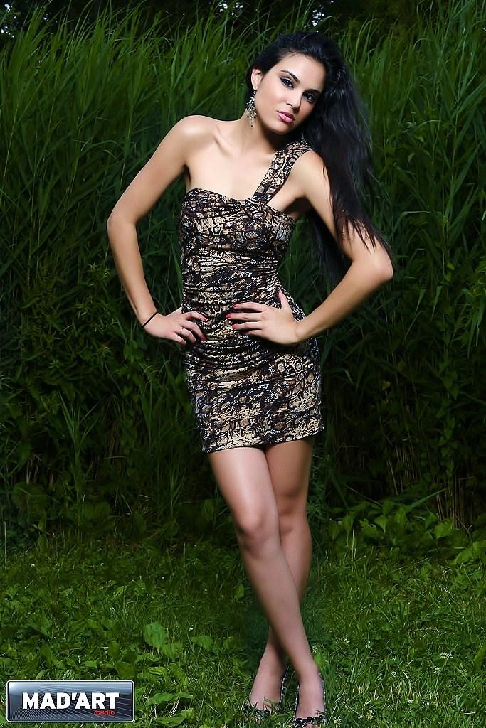 Female model photo shoot of Stephanie Brazeek in Central Park