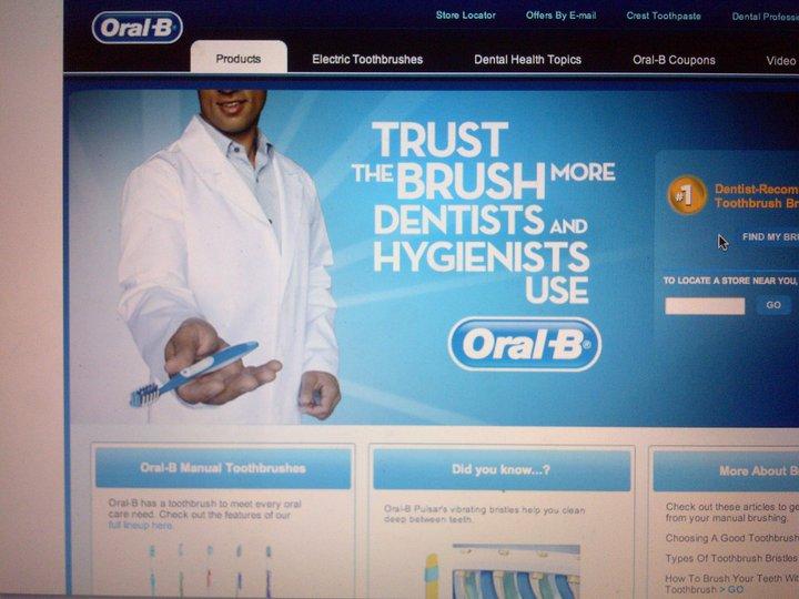 Oct 24, 2012 Oral-B gig