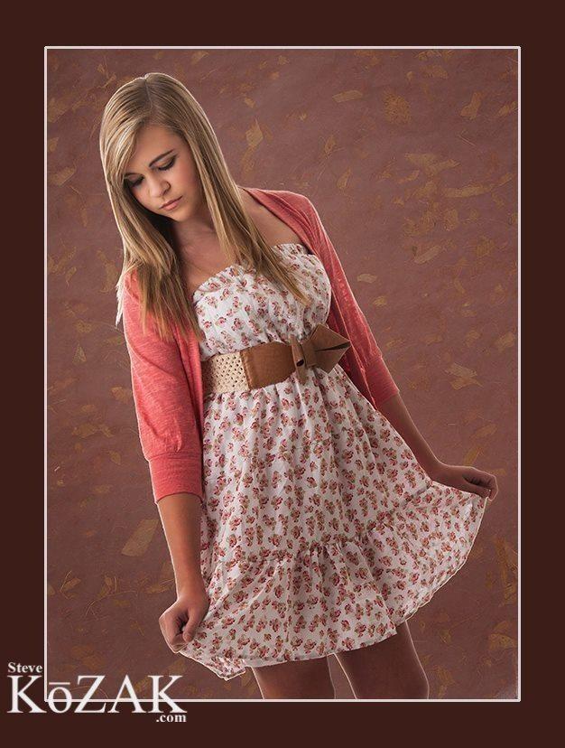 Female model photo shoot of Hannah Henson by Steve Kozak Photography in South DFW, makeup by Lisa P