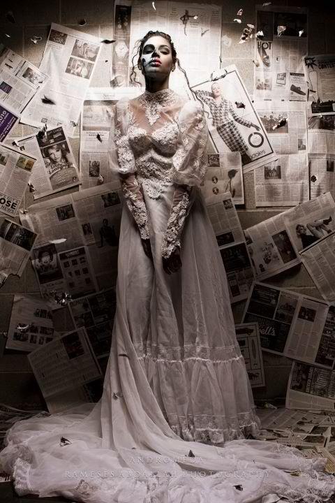 Female model photo shoot of Andromeda Ursa