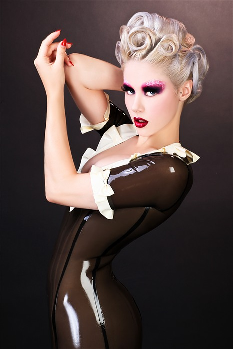 Los Angeles Oct 27, 2012 RYDER make-up labs LLC / James Ryder Workshop Photo - Student Work - Hair by: Ron Soto