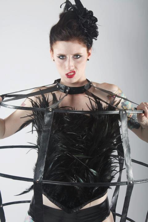 Female model photo shoot of Nicolaphobia