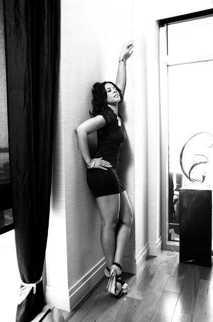 Female model photo shoot of IndigoBlu