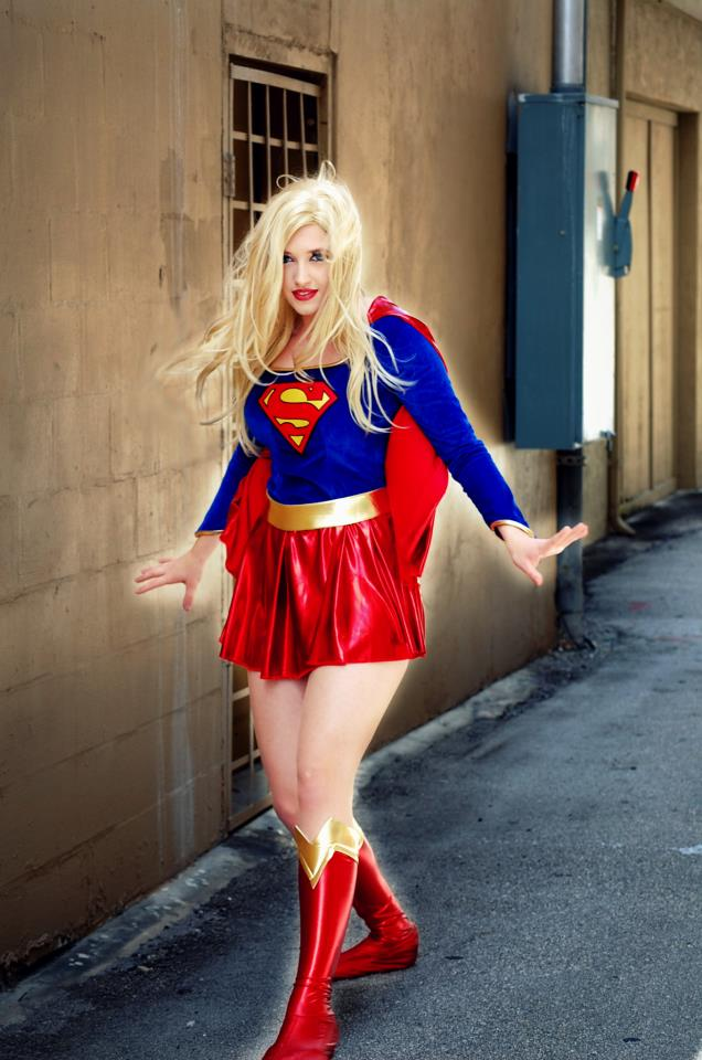 Oct 28, 2012 AB Photos Callie Cosplay as SuperGirl