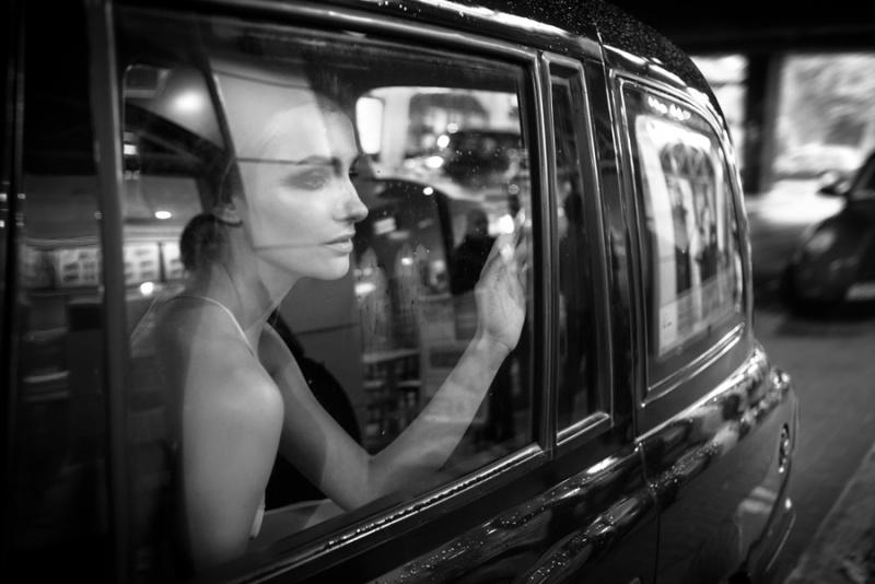 Embankment Underground Station, London Oct 30, 2012 David Sheldrick Inga @ Lenis Models