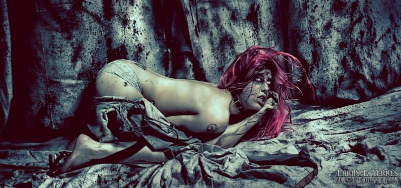 Female model photo shoot of Miz Jynx