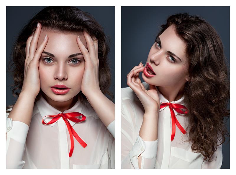 Female model photo shoot of Daria Czajka