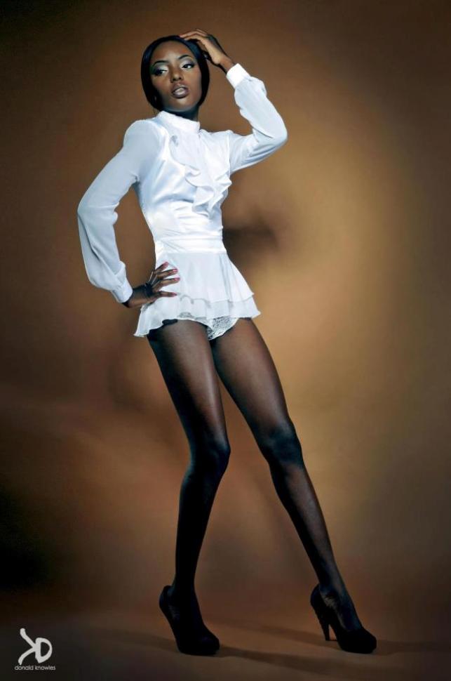 Female model photo shoot of Magdala  joseph in Nassau, Bahamas