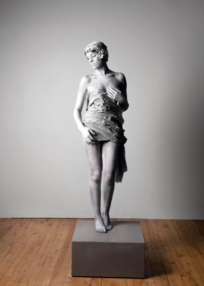 cincinnati Nov 06, 2012 robin mckerrell and anything airbrushed plus statue