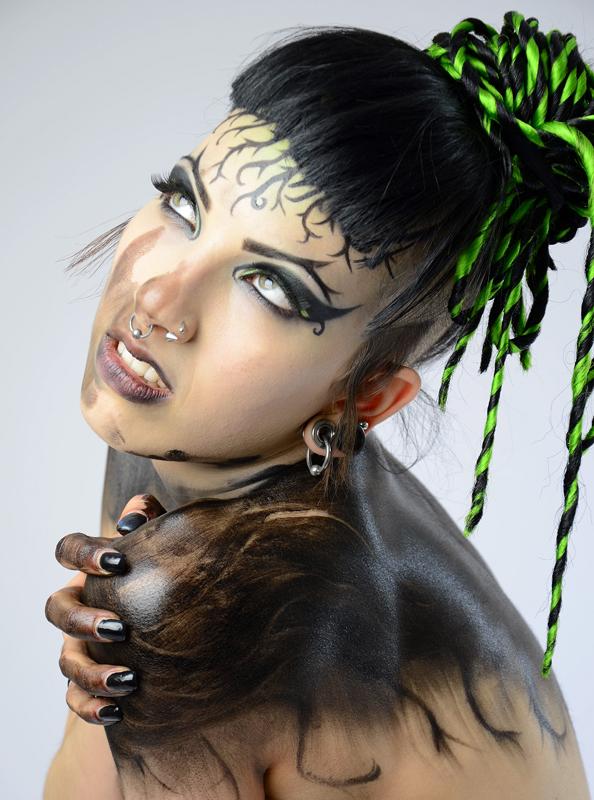 Nov 08, 2012 BeautyandTruthare1 Space Cowboy - Makeup - Amy in Peekaboo