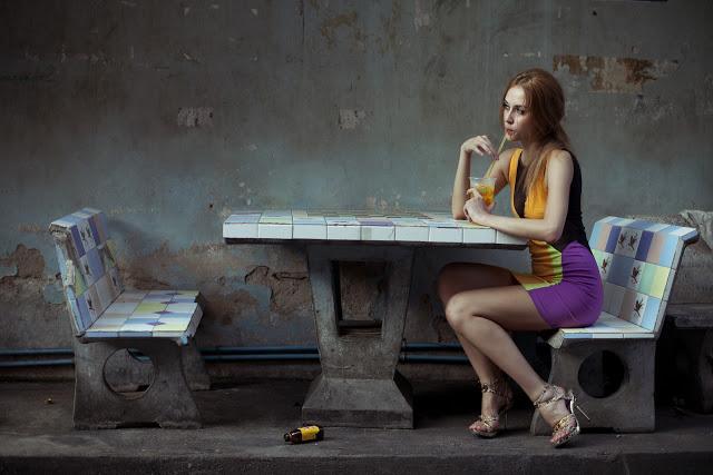 Female model photo shoot of Tumbarius02 in Bangkok