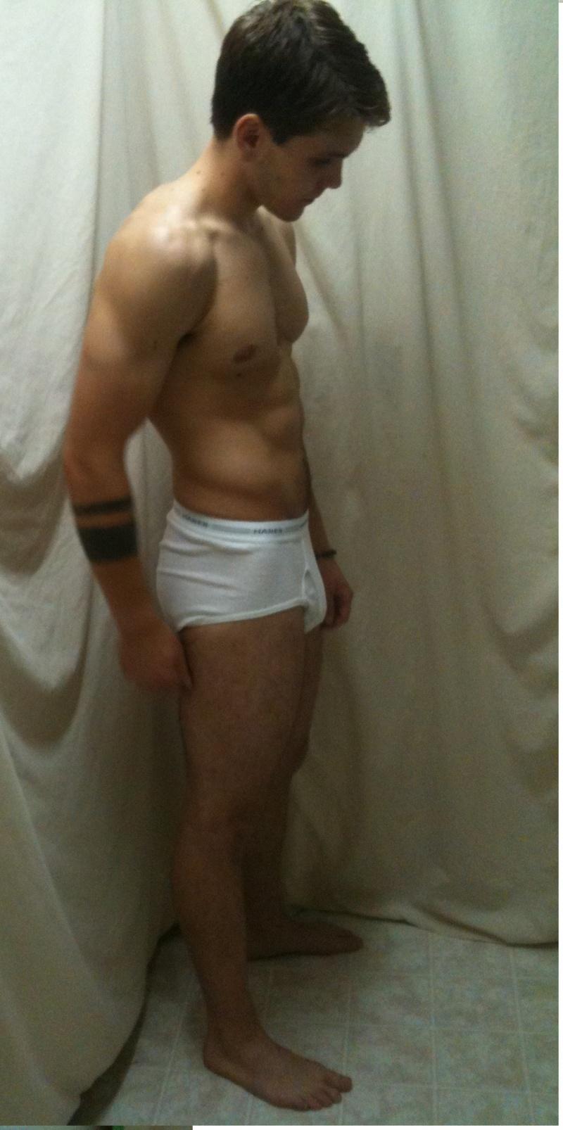 Male model photo shoot of Kellin Monroe Coffman in Bathroom