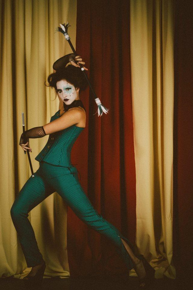 Female model photo shoot of Nemecia in Wonderland Studios, Anaheim, CA
