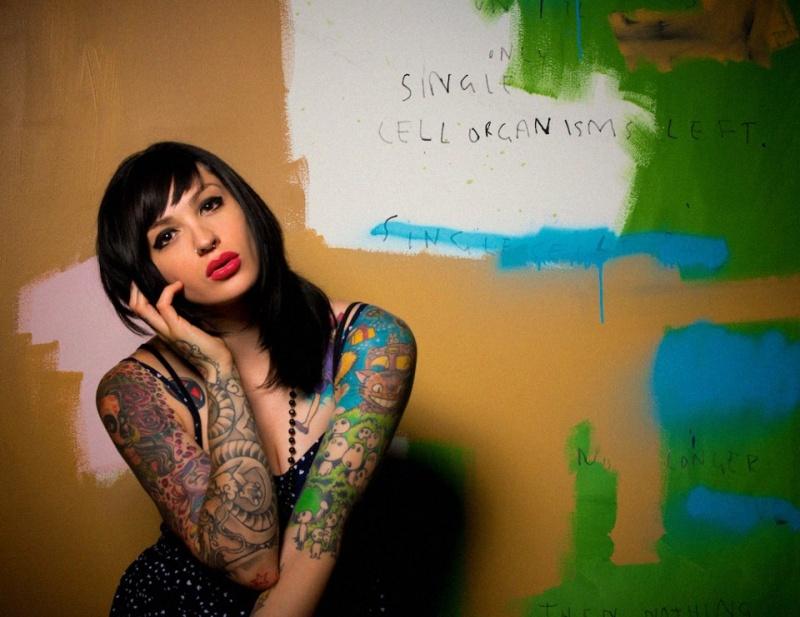Female model photo shoot of N E K O M A R I E by Michael Errey