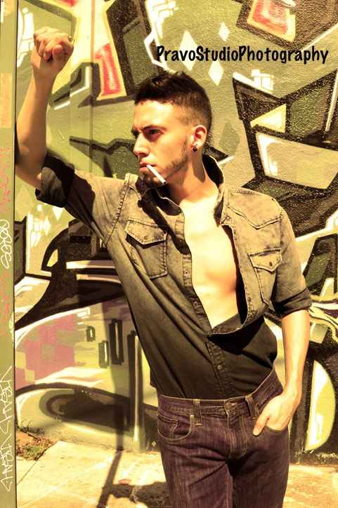 Male model photo shoot of Kenneth Michael