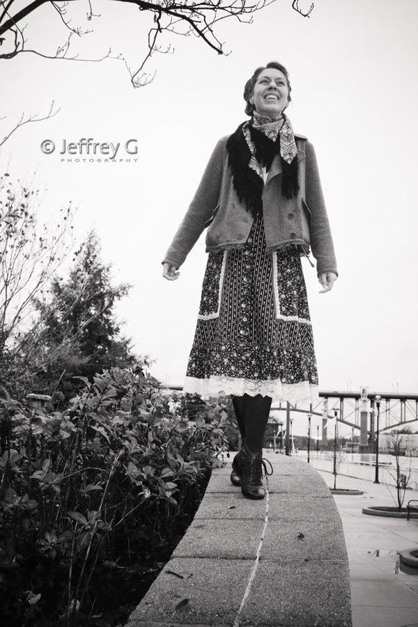Male and Female model photo shoot of Jeffrey G Photography and Mariana Gc in Knoxville Riverwalk