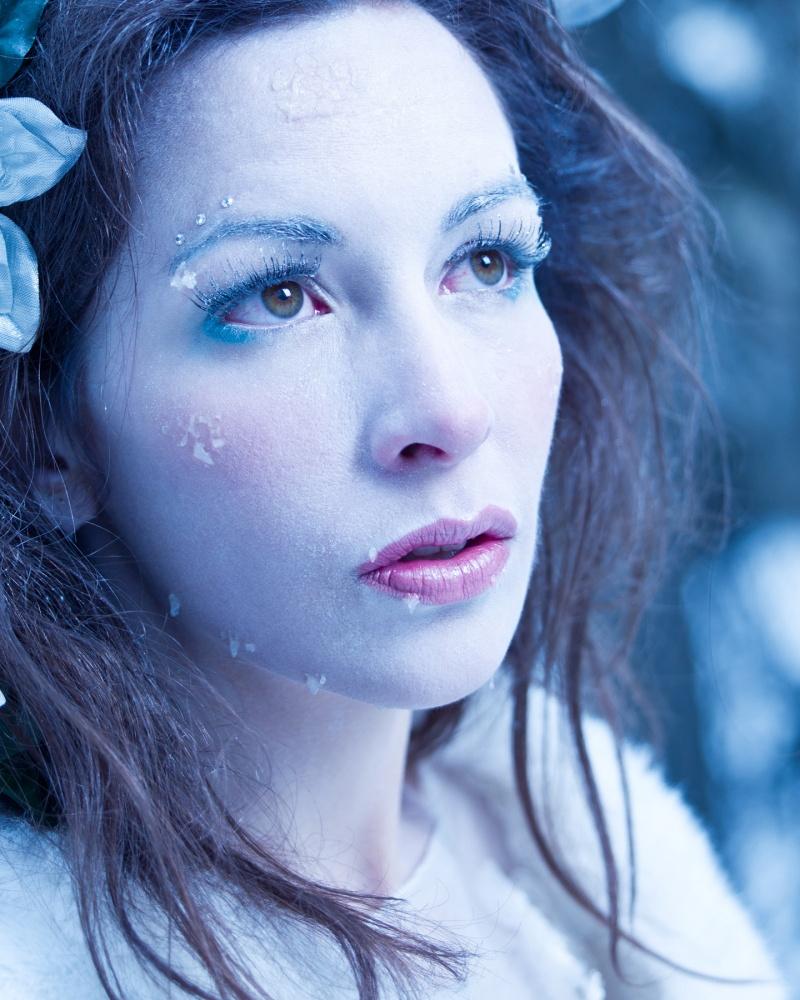 Female model photo shoot of DMacStudios Makeup in Calgary