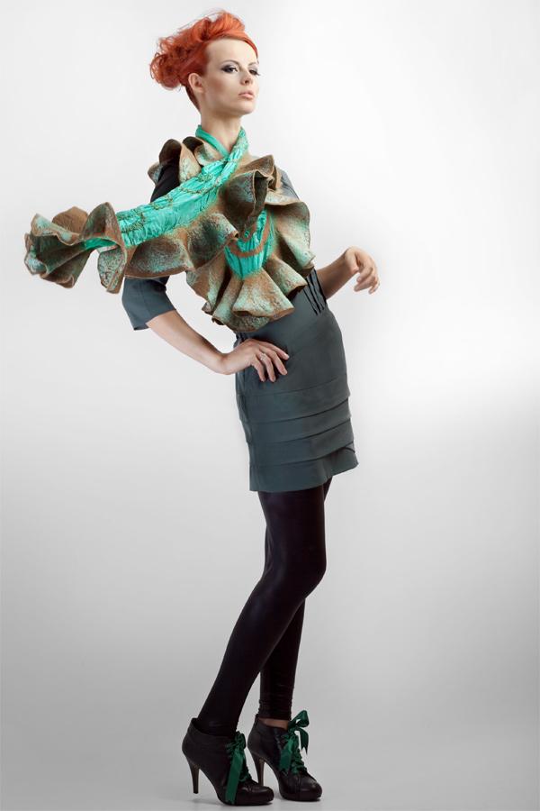 Female model photo shoot of HeartfeltFashion by Sebastian Pintal in Portlaoise, hair styled by Shockalocks