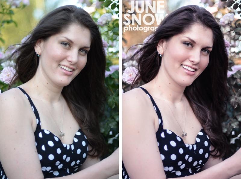 Female model photo shoot of Housefire Retouching