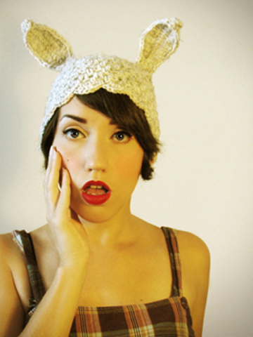 Nov 28, 2012 Horribly Eclectic White Rabbit Critter Cloche