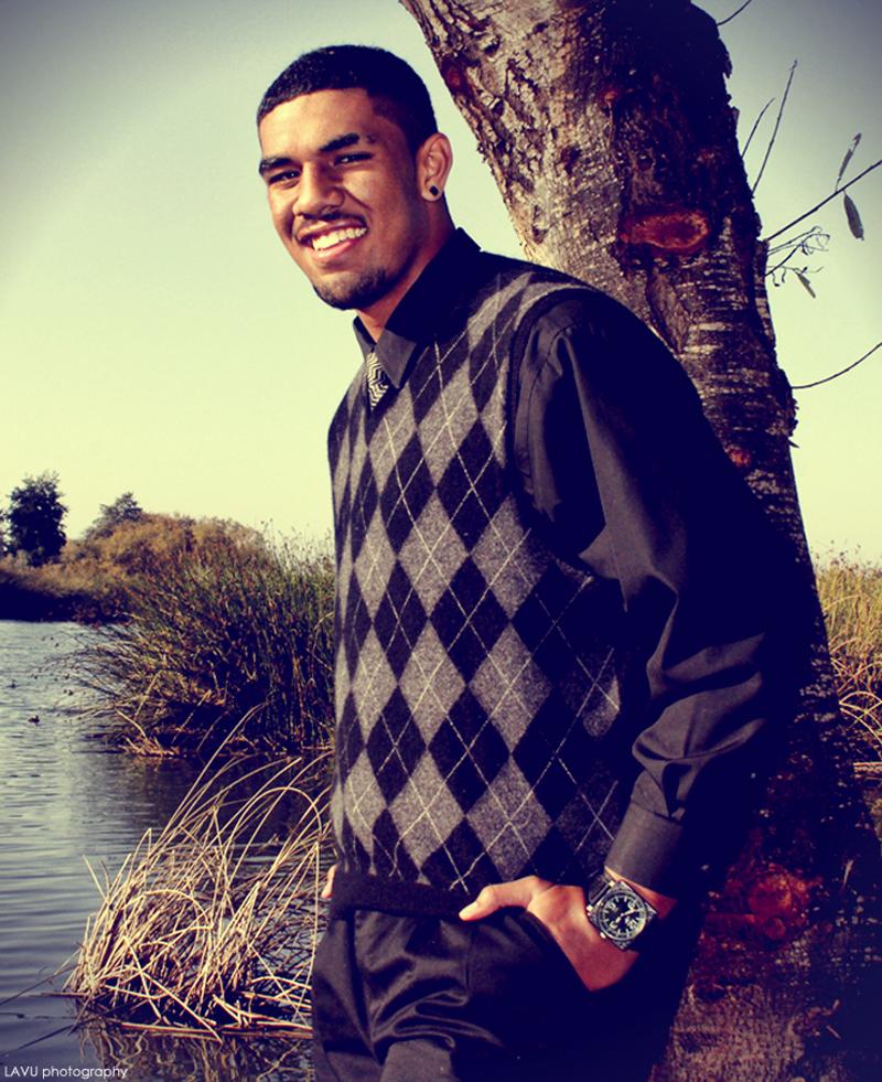 Male model photo shoot of Finn Lavulavu in Monterey, CA