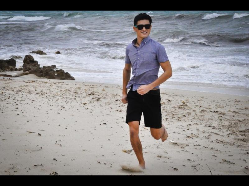 Male model photo shoot of Leslie Mark in burns beach WA