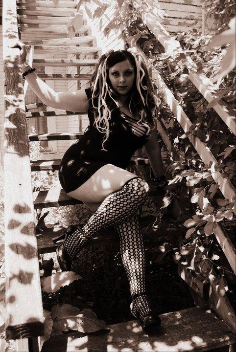 Female model photo shoot of Cinnamongrl in modoc Indiana