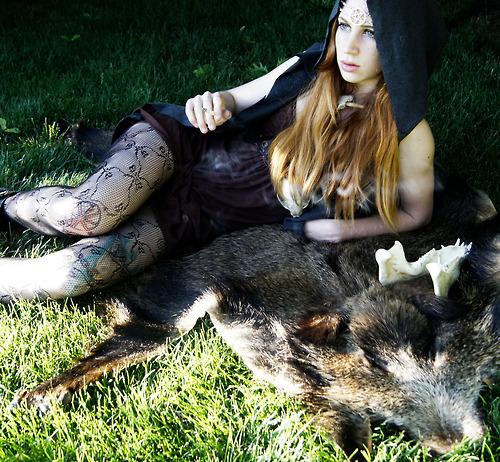 Female model photo shoot of Lay-uhh
