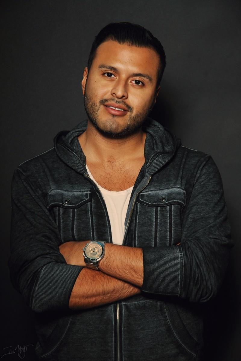 Los Angeles Dec 10, 2012 Isaiah Mays Jorge Monroy (Makeup Artist)
