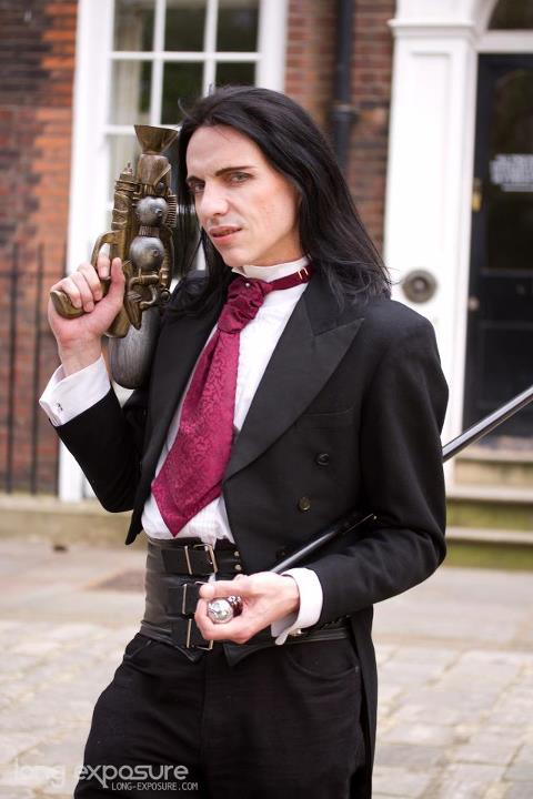Male model photo shoot of Demondaz in London